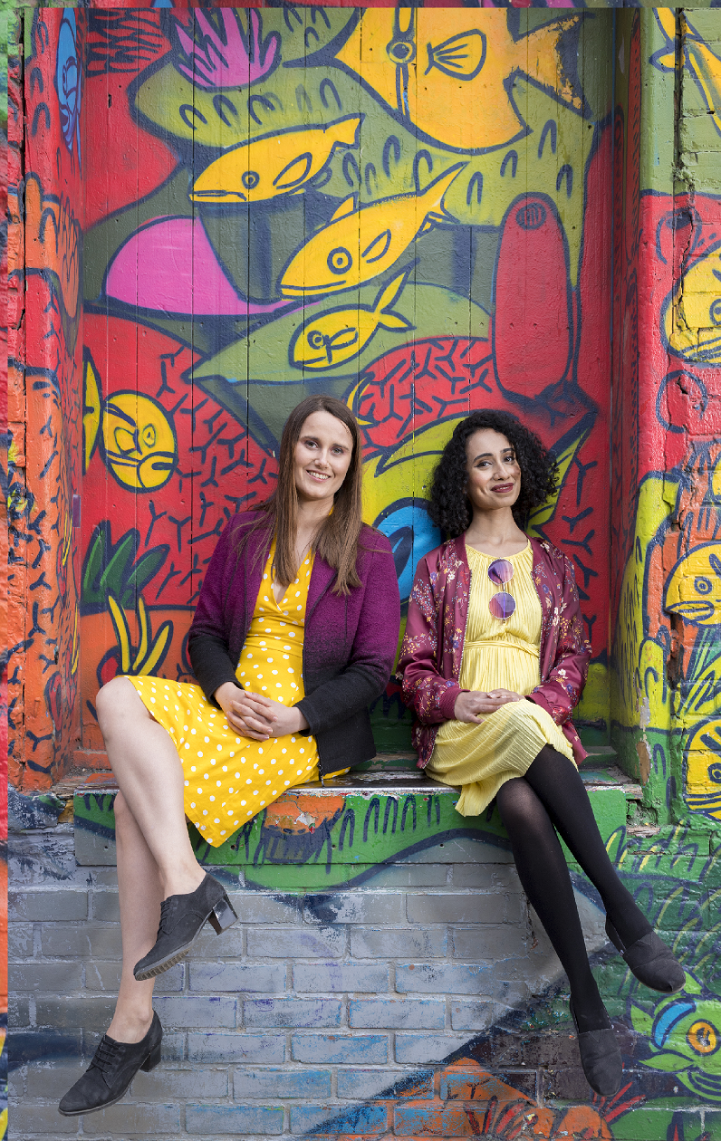 Tejo Co-founders Lakshmy Subramoniam(right) and Rachel Baker (left)
